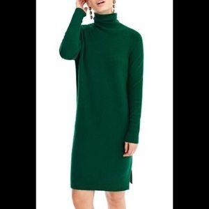 Jcrew Turtleneck Sweater Dress